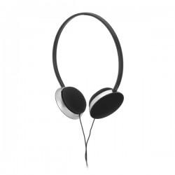 Fone de ouvido ABS Ajustável Cabo de 1,20 m com ligação stereo de 3,5 mm