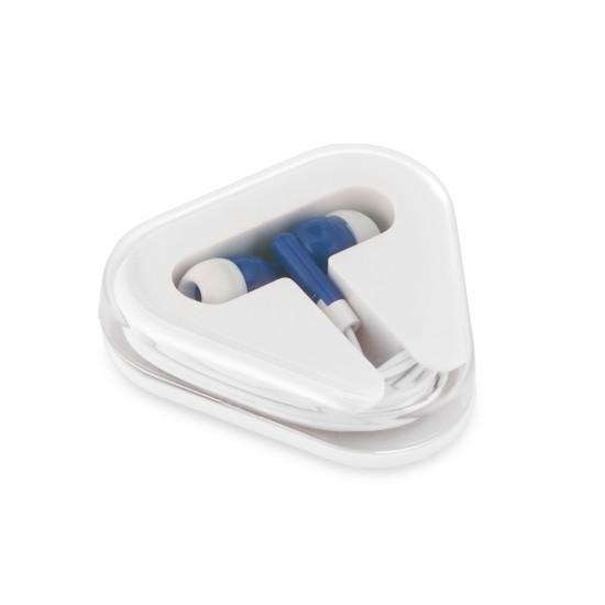 Fone de ouvido  Cabo de 1,25 m com ligação stereo 3,5 mm  Fornecido em caixa de PS/ABS