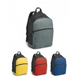 Mochila 600D Bolso exterior e bolsos laterais em rede