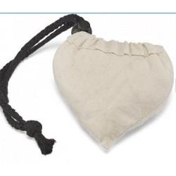 Sacola dobravel 100 por cento algodao fornecida desdobrada
