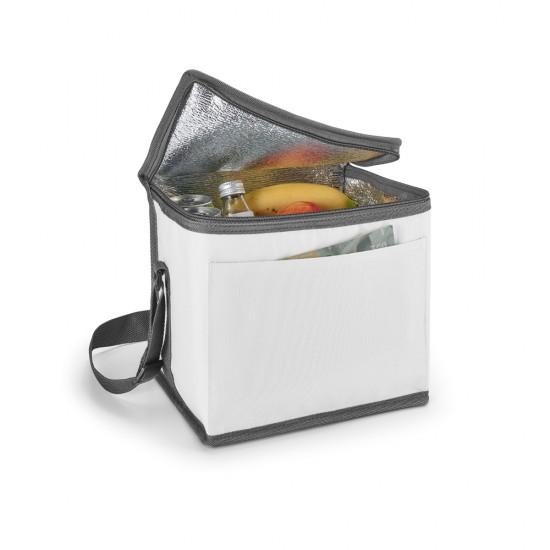 Bolsa termica 600D Com alca ajustavel em webbing e bolso frontal capacidade ate 9 litros Food grade