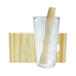 Kit Caipirinha 3 pecas com copo
