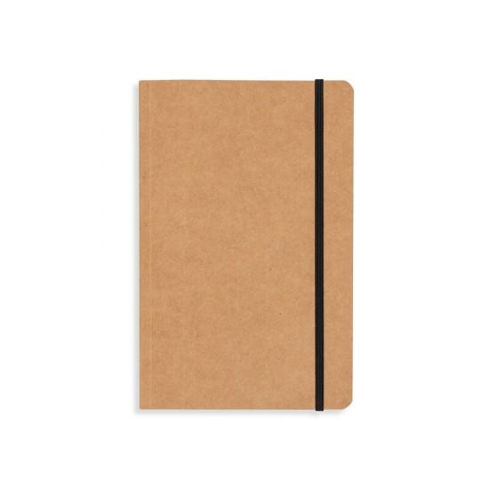 Caderneta tipo Moleskine Kraft