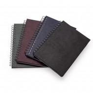 Caderno de Couro Sintetico