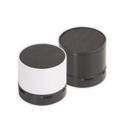 Caixa de som multimídia com Bluetooth e rádio FM.