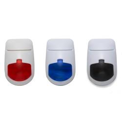 Porta cartão plástico formato mouse com três funções