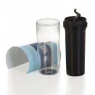 Copo plástico 350ml porta foto