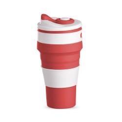 Copo retrátil 500ml de silicone, livre de BPA.