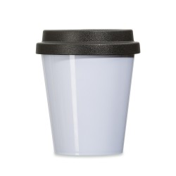 Copo plástico 350ml com tampa