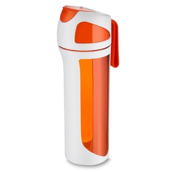 Garrafa plastica 550ml com alça para transporte
