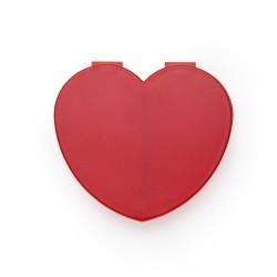 Porta comprido plástico de formato coração