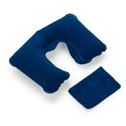 Travesseiro inflável para viagem, acompanha estojo na mesma cor do travesseiro