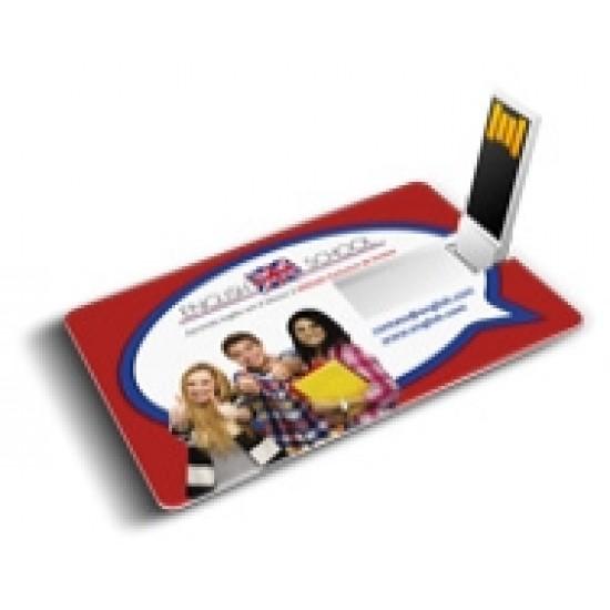 Pen Card 4 gb 100 por cento personalizável