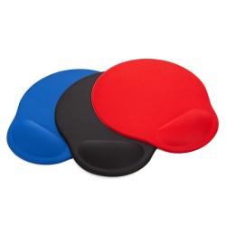 Mouse Pad ergonomico redondo