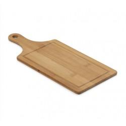 Tábua de Corte com Canaleta em bambu